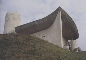 Le Corbusier - Capella de Nôtre-Dame-du -Haut -  Ronchamp - 1953