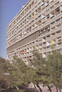 Le Corbusier - Unité d'Habitation - Marsella - detall