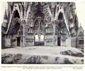 sagrada família - façana del naixement