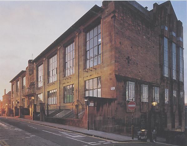 Mackintosh, Charles Rennie - Glasgow School of Art - façana
