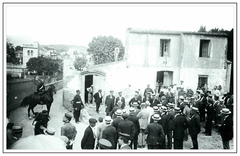 acte d'obertura de l'avinguda Vallcarca, 1920