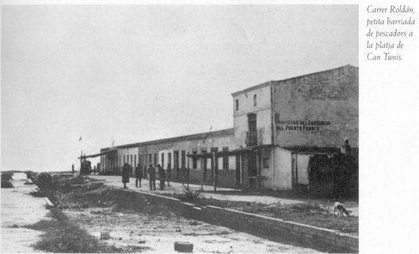 Can Tunis barri pescadors 1920