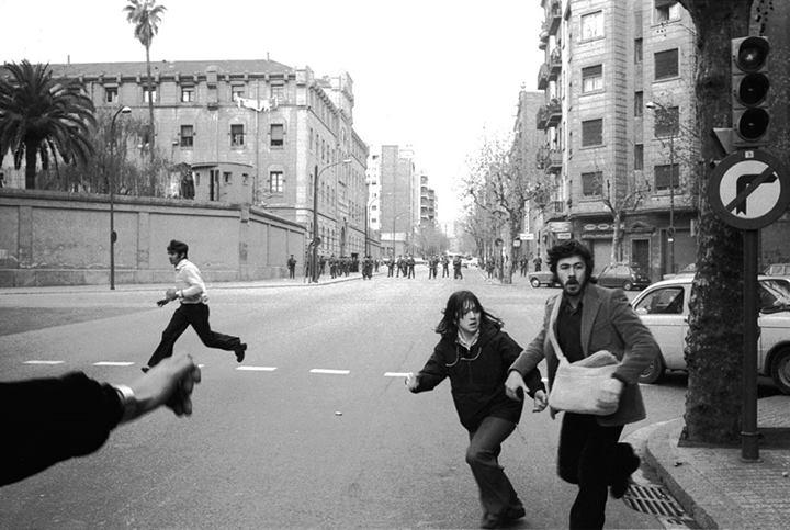 model, protestes, 1976