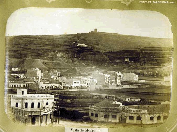 vista de montjuïc - poblesec