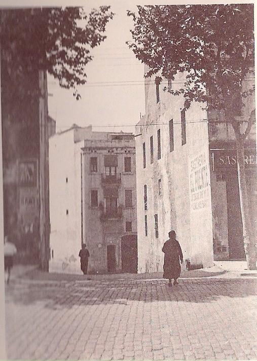 riera de la Magoria, frontera de Sants y hostafrancs desde 1839.