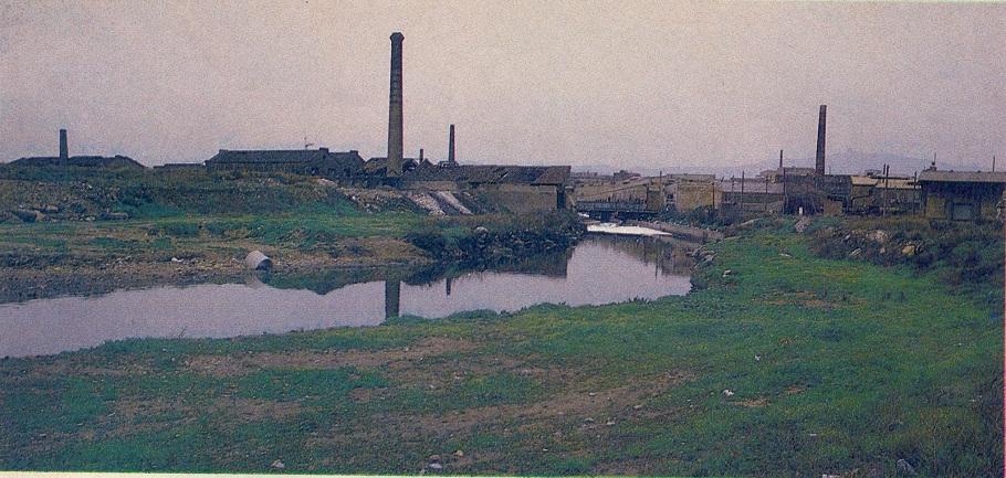 desembocadura del Bogatell, 1980