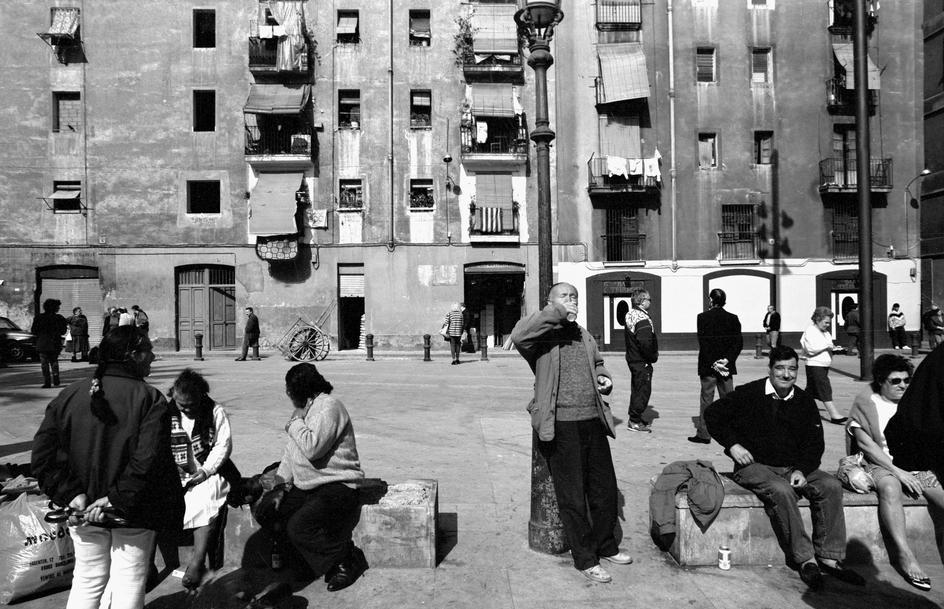 Plaça Salvador Seguí, 1984