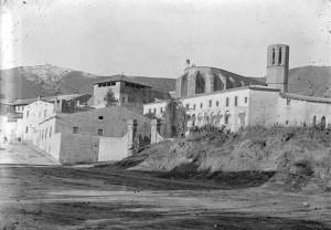Monestir de Pedralbes, c. 1900. AFB. J. Anglada