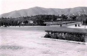 Diagonal amb Av Pedralbes, 1950