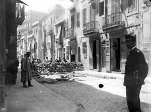 Salmerón barricada 1909