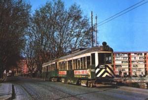 Carretera de Mataró, tramvia, 1970 - Aj SAB