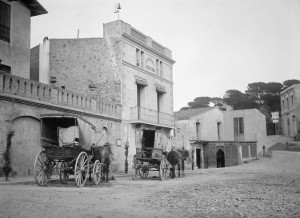 AFB, plaça de V. - 1900