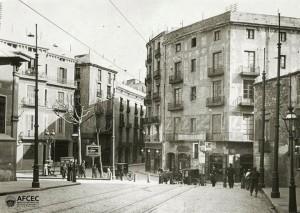 plaça de Jonqueres, 1908, CEC