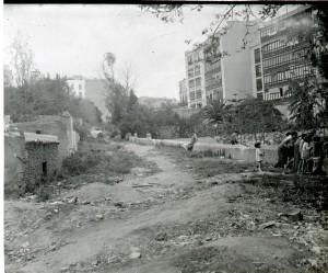 18 Riera de Cassoles amb Guillem Tell, octubre 1931, Jordi Llacuna, Club Excursionista de Gràcia, AFB - copia