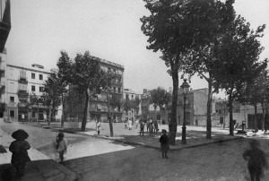 plaça del Diamant, 1918