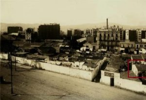 1927 - Avinguda Mistral, Paral·lel amb Vilamarí - Barcelona